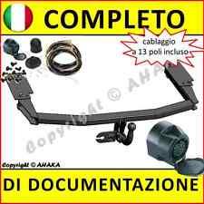 Gancio di traino fisso Mazda 6 berlina hatchback 2002-2008 kit elettrico 13-poli