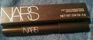 "NARS Soft Touch Shadow Pencil in ""Agile Noir"" (black infused w/ gold) NIB!"