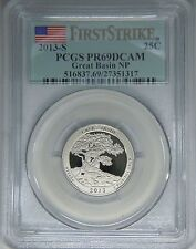 2013-S Great Basin NP quarter PCGS PR69DCAM proof First Strike