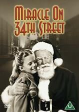 MIRACLE ON 34TH STREET DVD ORIGINAL 1947 BLACK & WHITE MOVIE BRAND NEW & SEALED