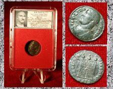 Ancient Roman Empire Coin LICINIUS I PROVIDENTIA AVGG NN Campgate