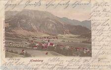 Hindelang AK 1902 panorama Alpi Baviera 1607318