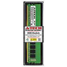 A-Tech 8GB PC4-19200 Desktop DDR4 2400 MHz Non ECC 288-Pin DIMM Memory RAM 1x 8G