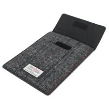 Harris Tweed Grey Tartan Tablet Case For iPad Mini
