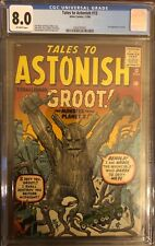 Tales to Astonish 13 CGC 8.0!  1st appearance of Groot!  Only 7 graded higher!