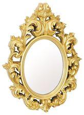 Catherine leggero ORNATA in plastica lucida cornice oro Mirror Wall
