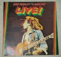 Bob Marley and The Wailers- Live (Vinyl LP 1975) VG+/EX ILPS-9376