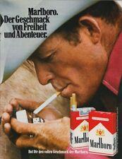 Marlboro Zigaretten - Reklame Werbeanzeige Original-Werbung 1978 (6)
