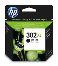 HP originales f6u68ae, 302xl cabezal de impresión/cartucho negro high-yield Black