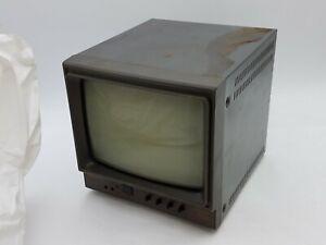 "Panasonic TR-930B Video Monitor 8"" Screen 120V Oct 1990 Japan Vintage Electronic"