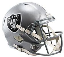 NFL Football Helm OAKLAND RAIDERS Full Size Speed Helmet Riddell neu American