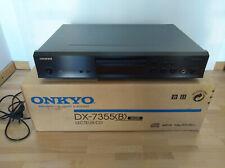 Onkyo DX-7355 CD-Player schwarz, mp3 in OVP mit Anleitung und Fernbedienung