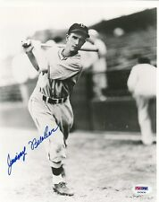 Jimmy Bucher Dodgers Signed 8x10 Photo Autograph Auto PSA/DNA X93830