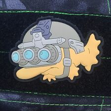Tactical Outfitters - Blinky Glow In The Dark PVC Morale Patch - Simpsons