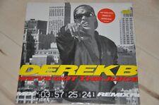 """Derek B - We've got the Juice (Remix) - 80er - 12"""" Maxi Vinyl Schallplatte LP"""