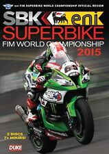 Superbike World Championship - Official review 2015 (New 2 DVD set) SBK