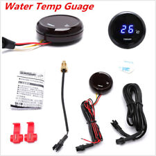 1Pcs Blue Motorcycle LED Digital Water Thermometer Gauge Meter