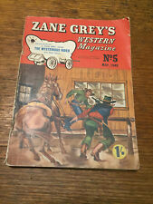 Zane Grey's Western Magazine no.5 May 1949 The Mysterious Rider novella