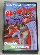 Anirog Ghost Town Kassette Tape Commodore 16 C16 plus/4 funktioniert