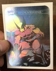 HIGH GRADE JUST PULLED 1990 Impel Marvel Universe Hologram Wolverine #MH4 Card