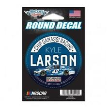 """Kyle Larson #42 3"""" Credit One Round Decal 2018 Free Shipping Instock"""