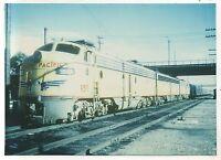 UNION PACIFIC RAILROAD Diesel Locomotive at LOS ANGELES CA California Photograph