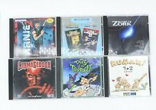 6 X Juego de PC Trabajo Lote-arinie 2, Ultima, Zork, Carmageddon, Day of the Tentacle