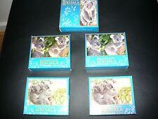 2008,2009,2010,2011,2012 $1 1oz Silver Koala Gold Gilded in Box & COA