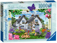 19496 Ravensburger Country Cottage Collection Delphinium 1000pc [Jigsaw Puzzle]