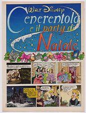 CENERENTOLA E IL PARTY DI NATALE cinderella inserto Sorrisi e Canzoni Tv 52 1992