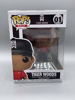 Funko Pop Golf: Tiger Woods - Tiger Woods Vinyl Figure Red Shirt #01 Mint