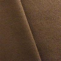 Coffee Brown Herringbone Twill Upholstery Fabric, Fabric By The Yard
