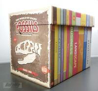 5x Box mit Deckel für A4-Format  Aufbewahrungsbox Aktenkarton 25x34x26 5 Stück