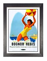 Dunoon Railway Vintage Holiday Beautiful Amazing Advert Poster Dunoon 2