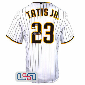 Fernando Tatis Jr. Signed Authentic White San Diego Padres Nike Jersey JSA Auth