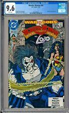 Wonder Woman #60 CGC 9.6 White Pages Batman Lobo app George Perez