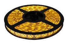 LED Strip Light Tape 12V 4.8W/m Non-waterproof IP20 Yellow SMD3528 ECO Series 1m