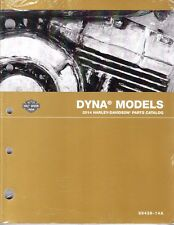 2014 Harley Dyna Wide Low Glide Rider Super Sport Street Parts Manual Catalog