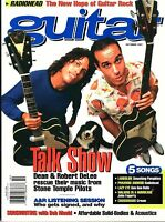 Guitar Magazine October 1997- Radiohead, Talk Show, A&R Listening Session