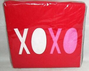 VALENTINE'S DAY COCKTAIL PAPER NAPKIN ASSORTMENT 20 Ct [Your Choice]