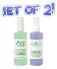 MARIO BADESCU 2x Facial Spray Spritz Mist Hydrating Green Tea &Soothing Lavender