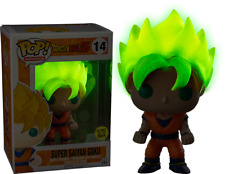 DRAGON BALL Z DRAGONBALL GOKU SUPER SAYAN 2 3 POP FUNKO FIGURE DBZ GLOW GT #1