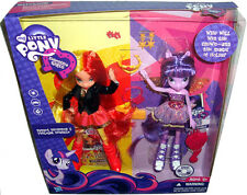 My Little Pony Equestria Girls Sunset Shimmer & Twilight Sparkle 2-Pack MIB Doll
