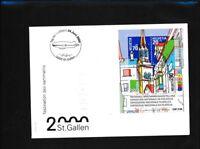 """Schweiz Block29 Briefe/Belege mit Sonderstempel """"Tag der Luftfahrt 24.Juni 2000"""""""