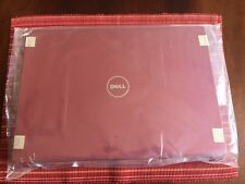 NEW, Dell Studio 1735 &1737, LCD Back Cover Top with Hinges (N271C) (RED)