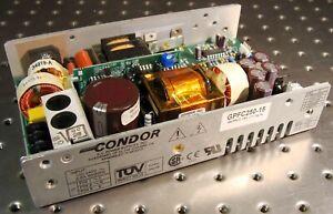 CONDOR GPFC250-15 SWITCHING DC POWER SUPPLY 15 VOLT 16.7 AMP 250 WATT 15VDC 250W