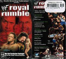 WWE WWF Royal Rumble 2000 Triple H Cactus Jack New Wrestling VHS Tape