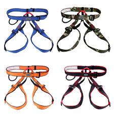 New listing Half Body Rock Climbing Harness Belt Mountaineering Caving Rappelling Equipment