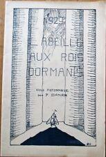 French Theatre Program 1929 L'Abeille Aux Rois Dormant - France