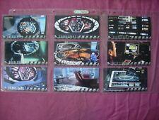 Insurrection Star Trek Next Gen Movie X9 Okudagrams Chase cards Skybox 1998 VFN